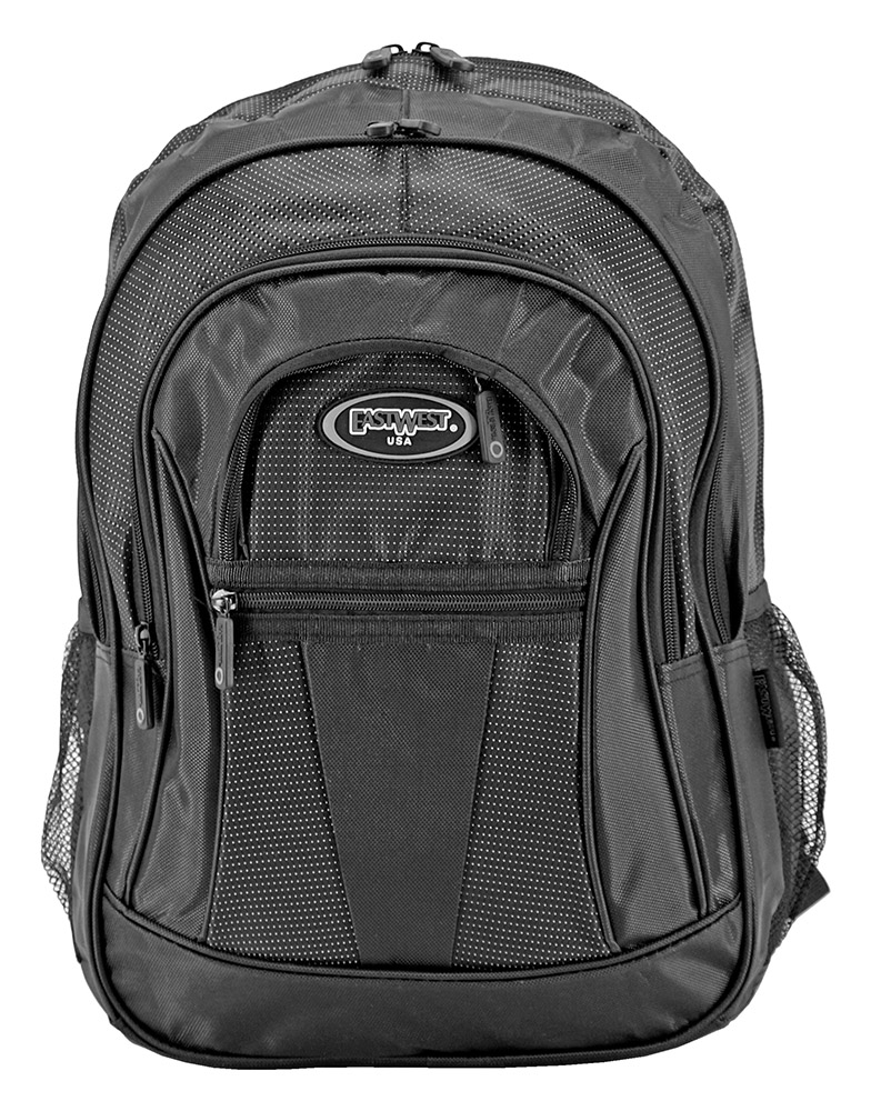 The Graduate Backpack - Black