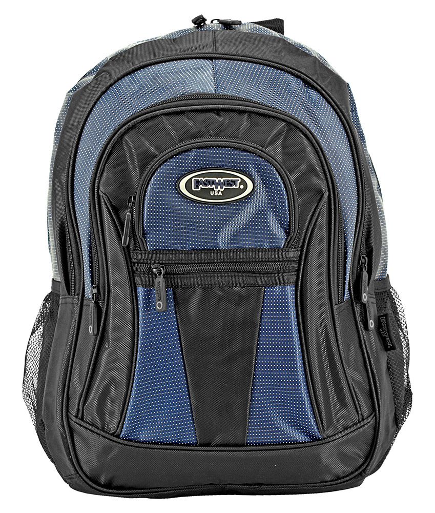 The Graduate Backpack - Navy Blue