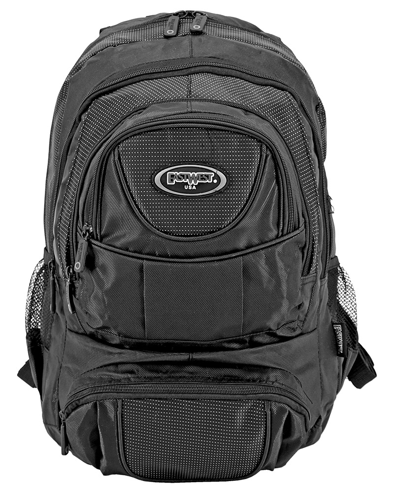 College Freshman Backpack - Black