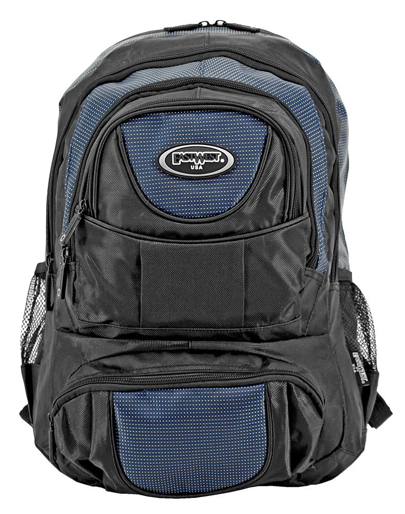 College Freshman Backpack - Navy Blue
