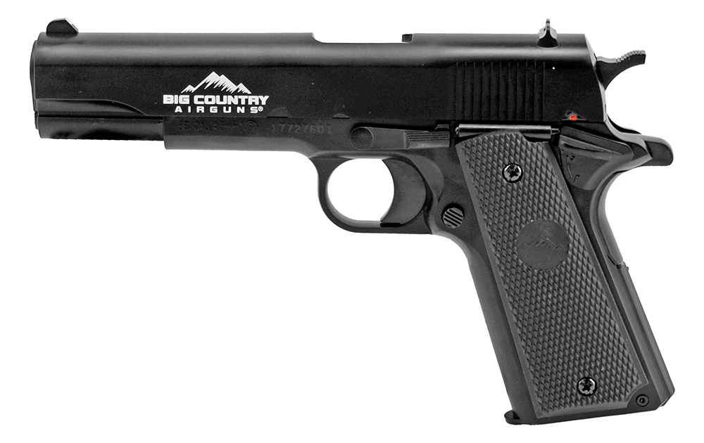 .177 CAL Big Country 1911 Spring Powered BB Gun