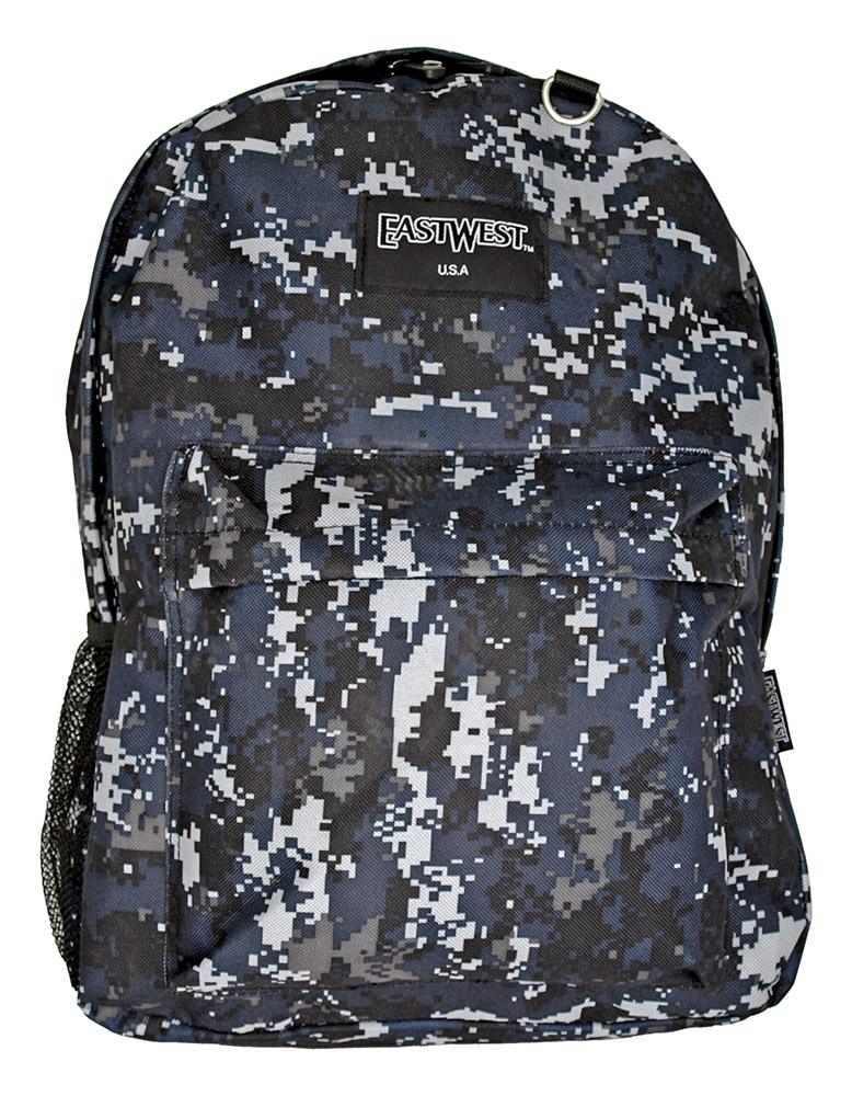 Sport Backpack - Blue Digital Camo