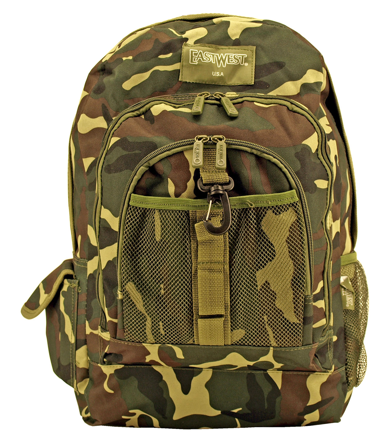 Honor Roll Backpack - Woodland Camo