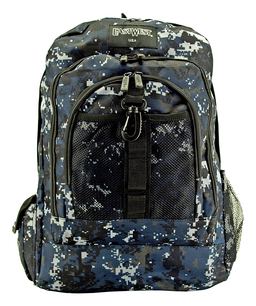 Honor Roll Backpack - Blue Digital Camo