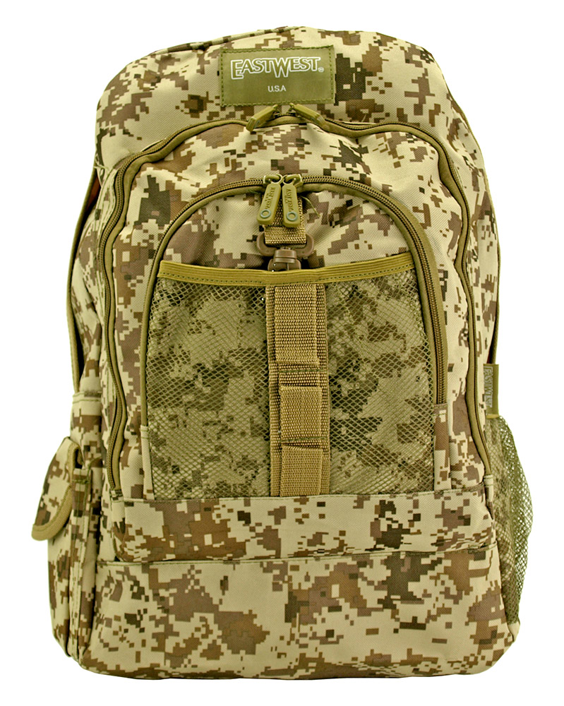 Honor Roll Backpack - Desert Digital Camo