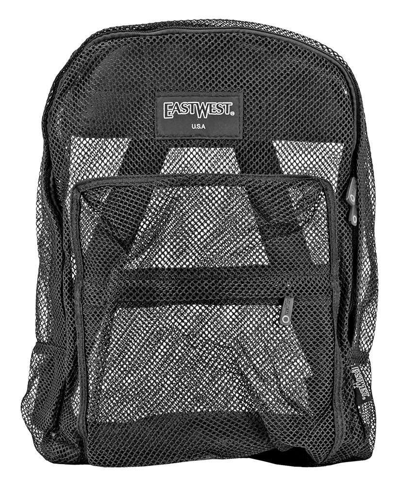 Beach Bag Backpack - Black