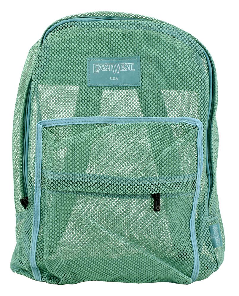 Beach Bag Backpack - Mint