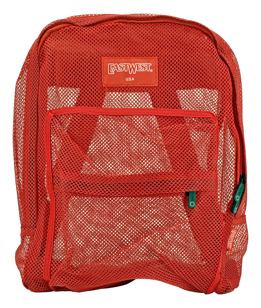 Beach Bag Backpack - Red