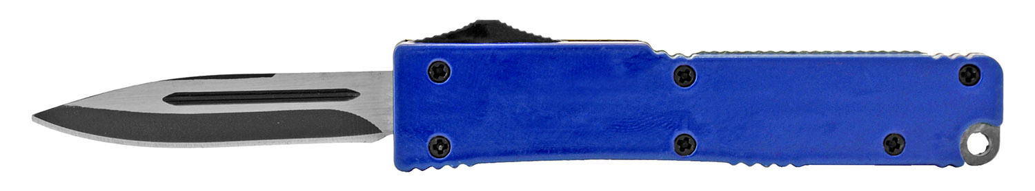 3.25 in Incognito Out the Front Knife - Blue