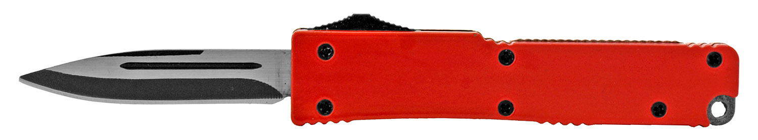 3.25 in Incognito Out the Front Knife - Red