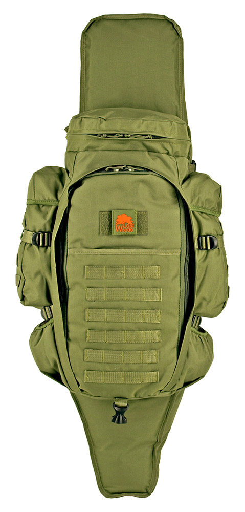 9.11 Tactical Full Gear Rifle Backpack - Olive Green