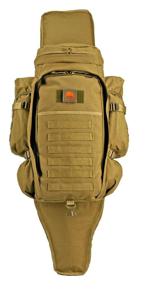 9.11 Tactical Full Gear Rifle Backpack - Desert Tan