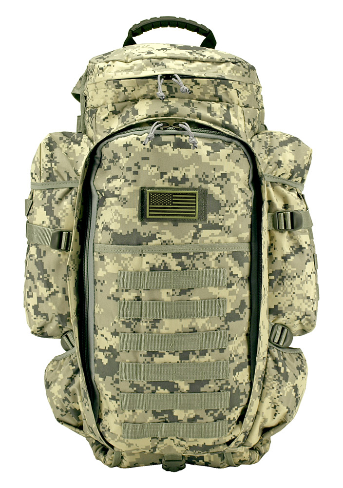 East West 9.11 Tactical Full Gear Rifle Backpack - Digital Camo