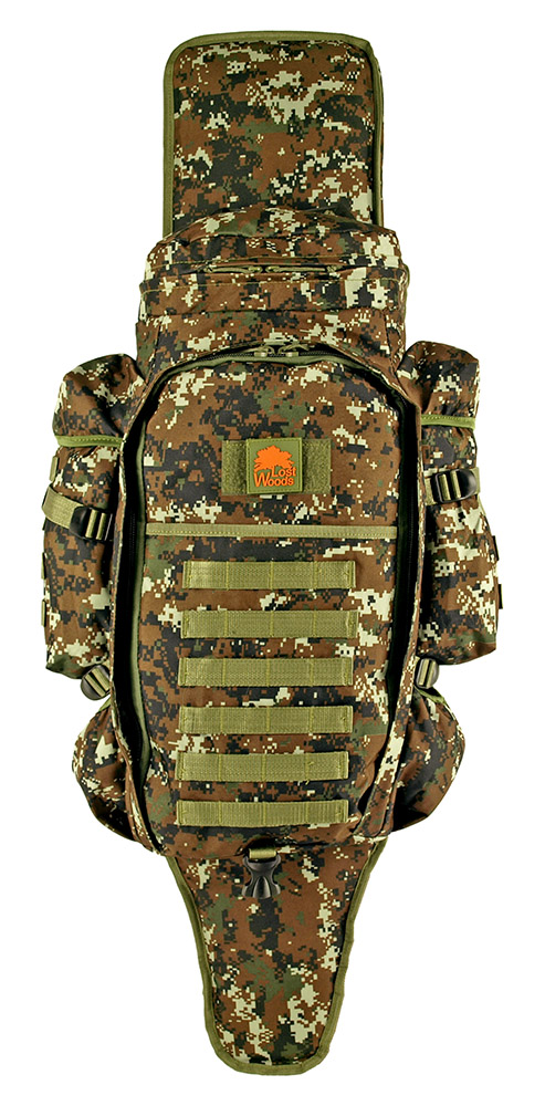 9.11 Tactical Full Gear Rifle Backpack - Green Digital Camo