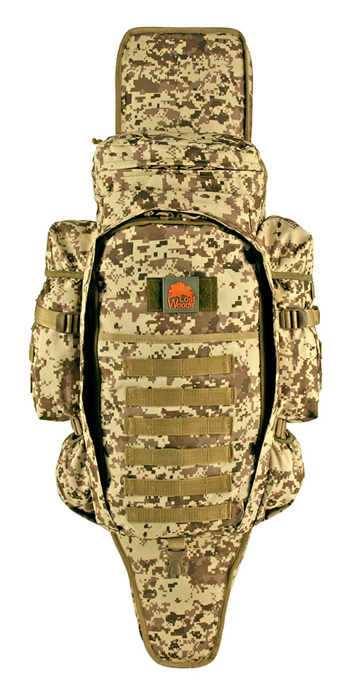 9.11 Tactical Full Gear Rifle Backpack - Desert Digital Camo