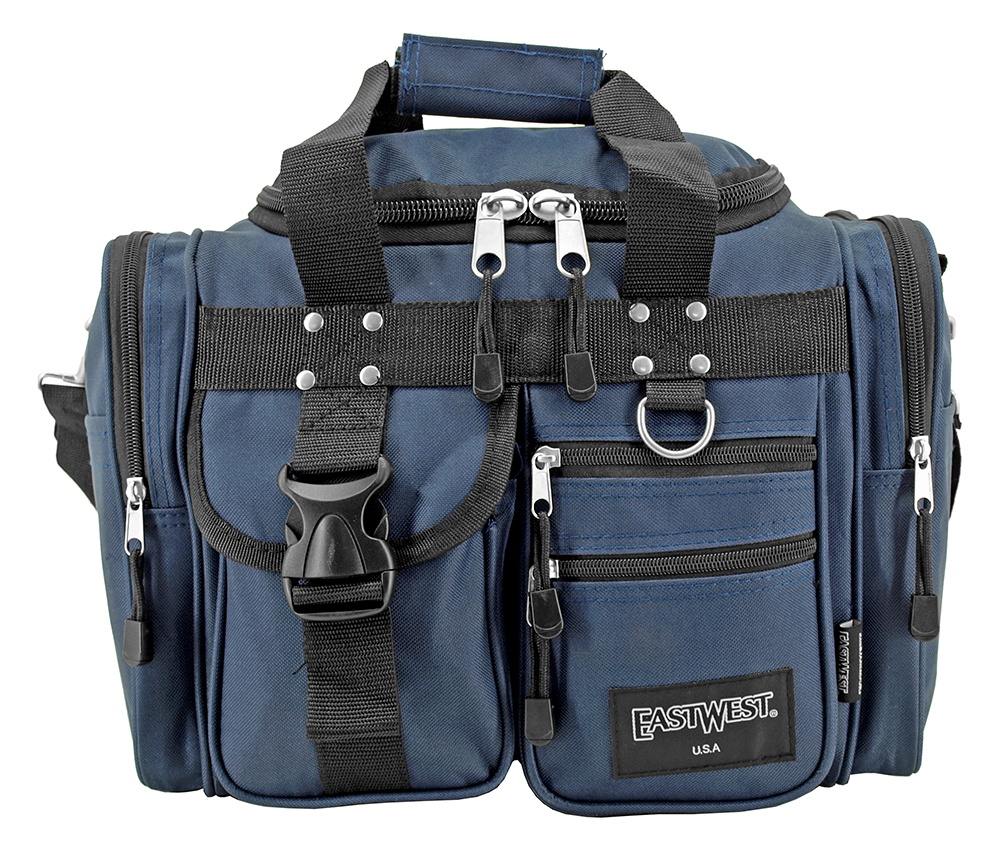 The Box Duffle Bag - Blue
