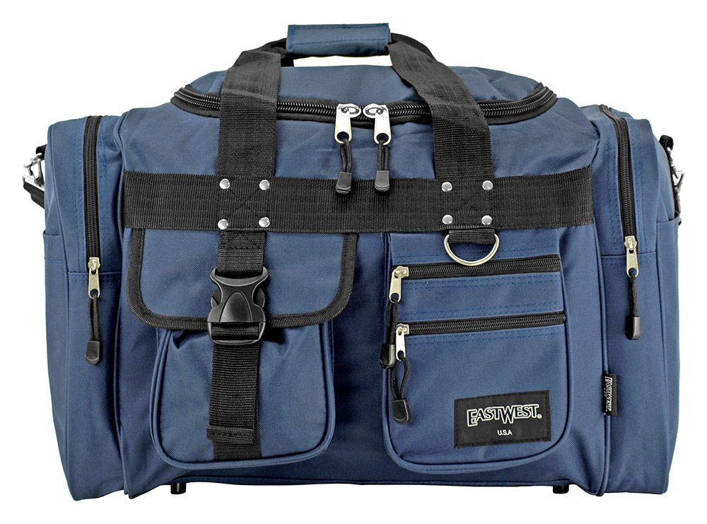 The Classic Duffle Bag - Blue