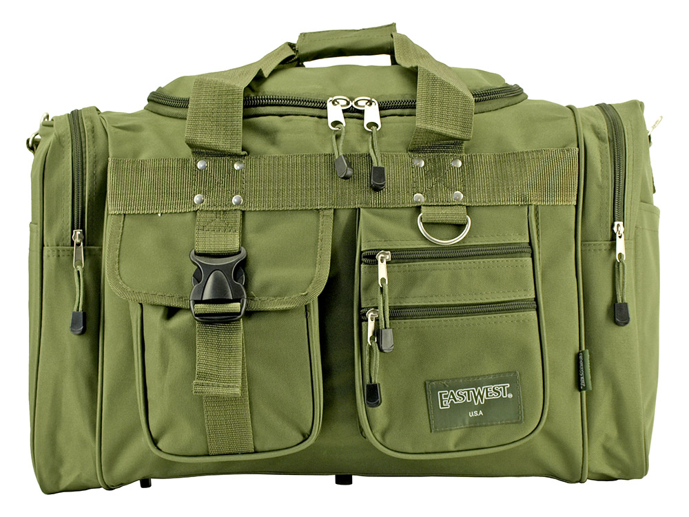 The Classic Duffle Bag - Olive Green