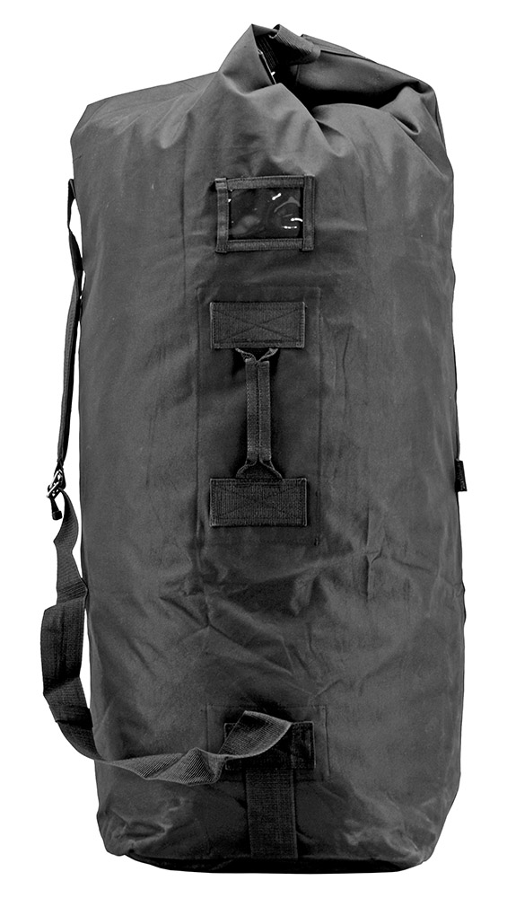 Military Duffle Large - Black