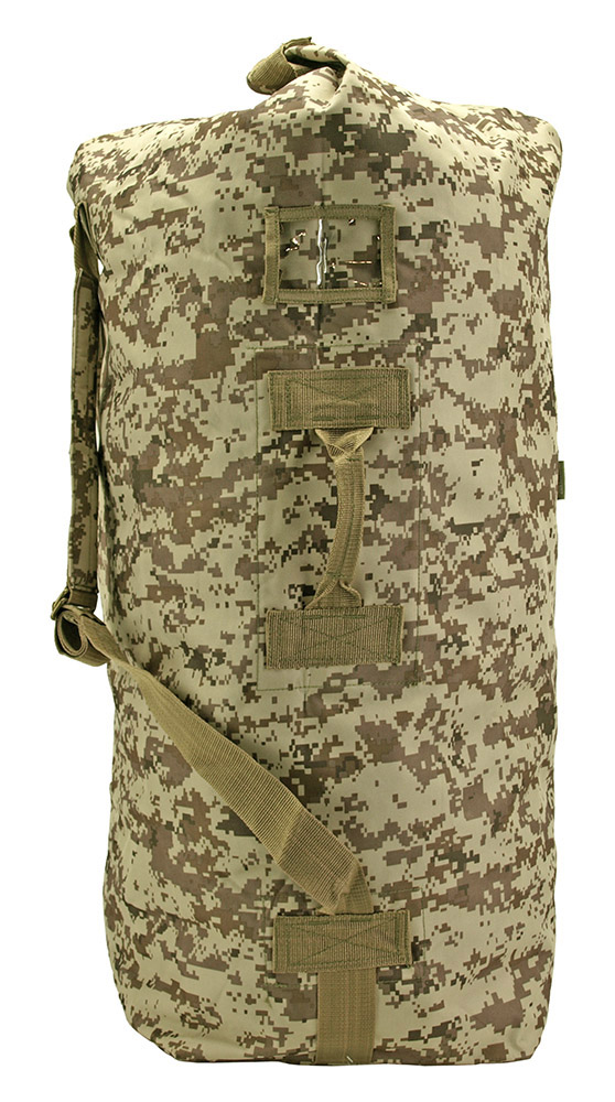 Military Duffle Large - Desert Digital Camo
