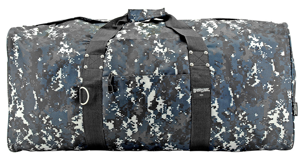 30 in Cargo Duffle Bag - Blue Digital Camo