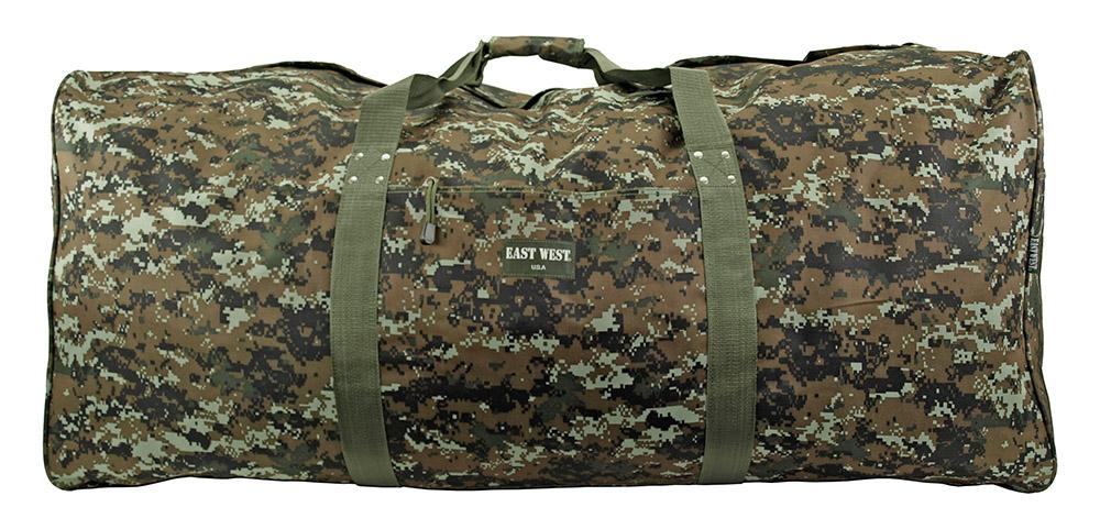 Extra Large Duffle Bag - Green Digital Camo