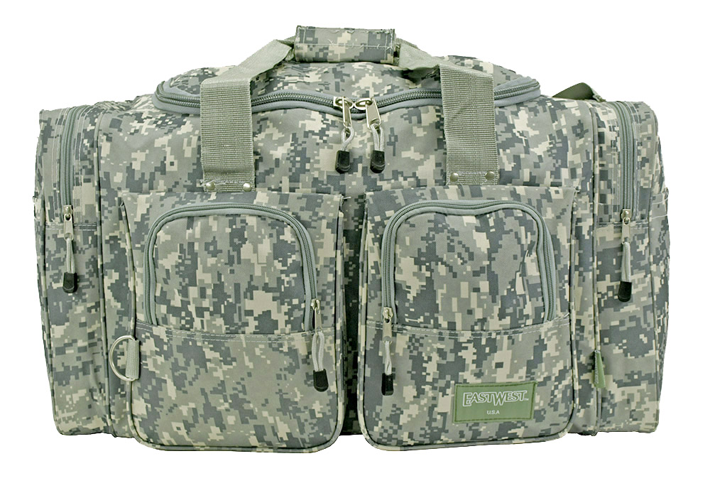 Camping Duffle Bag - Digital Camo