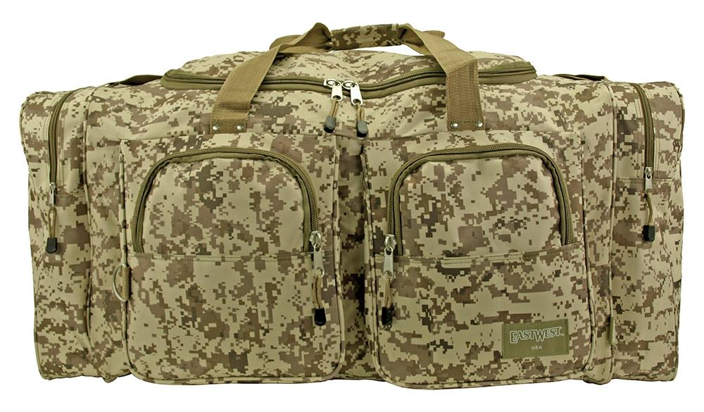 Camping Duffle Bag Large - Desert Digital Camo
