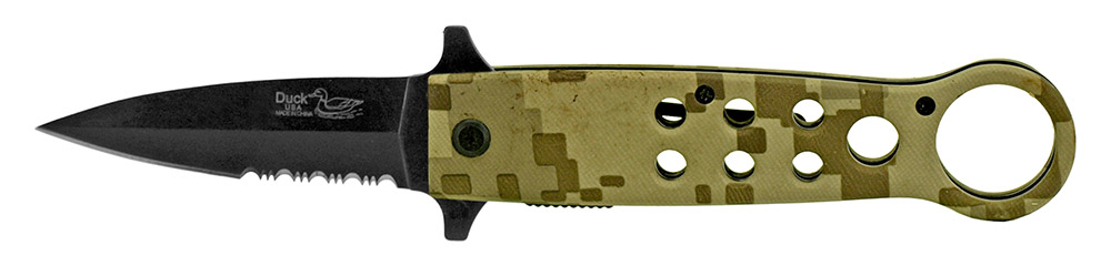 5 in Spring Assisted Tactical Knife - Digital Camo