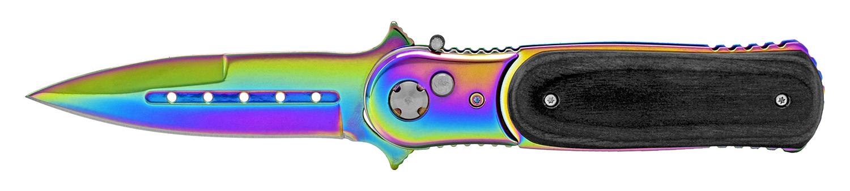 4.75 in Heavy Duty Switchblade - Titanium