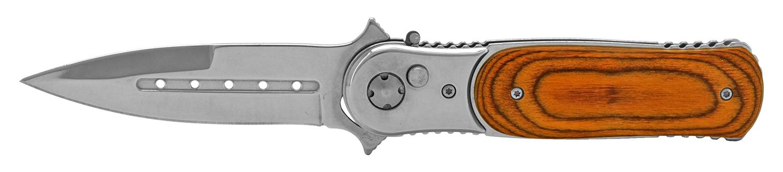 4.75 in Heavy Duty Switchblade - Wooden