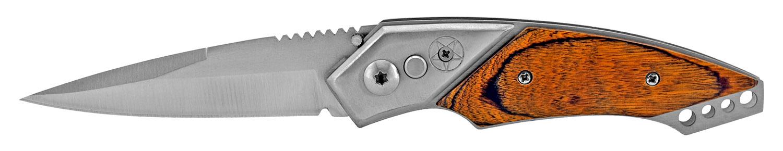 4.5 in Lonestar Western Switchblade - Wooden