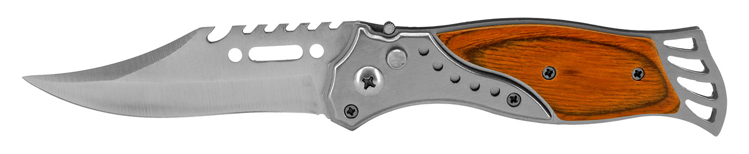 4.38 in Stainless Western Switchblade - Medium