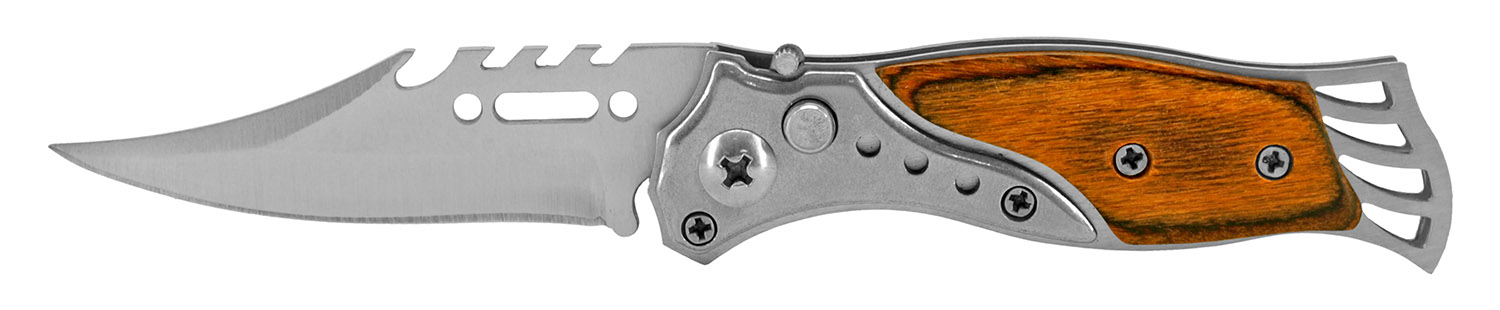 3.63 in Stainless Western Switchblade - Small