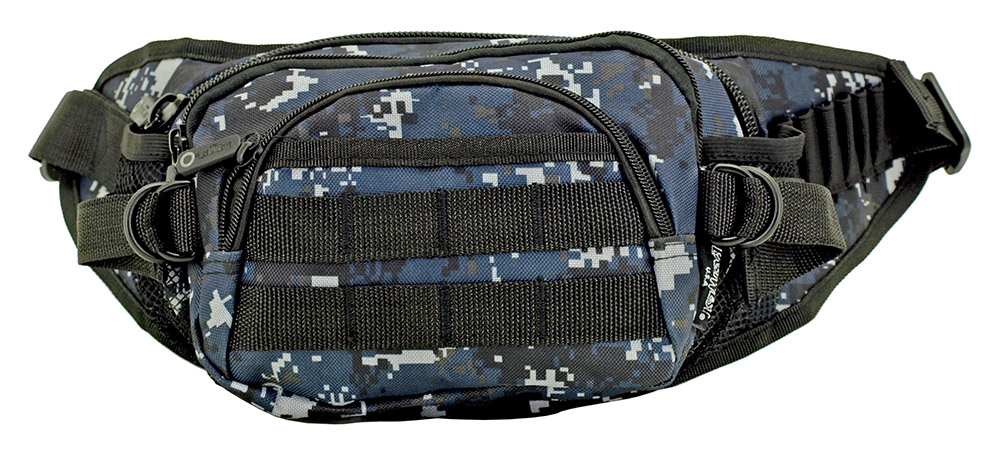 Fanny Pack - Blue Digital Camo