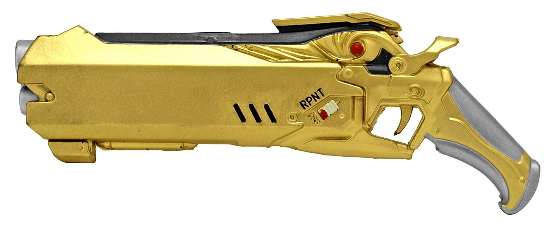 Space Cowboy Foam Pistol - Gold