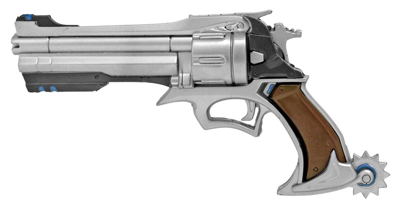 Six Shooter Foam Pistol - Silver