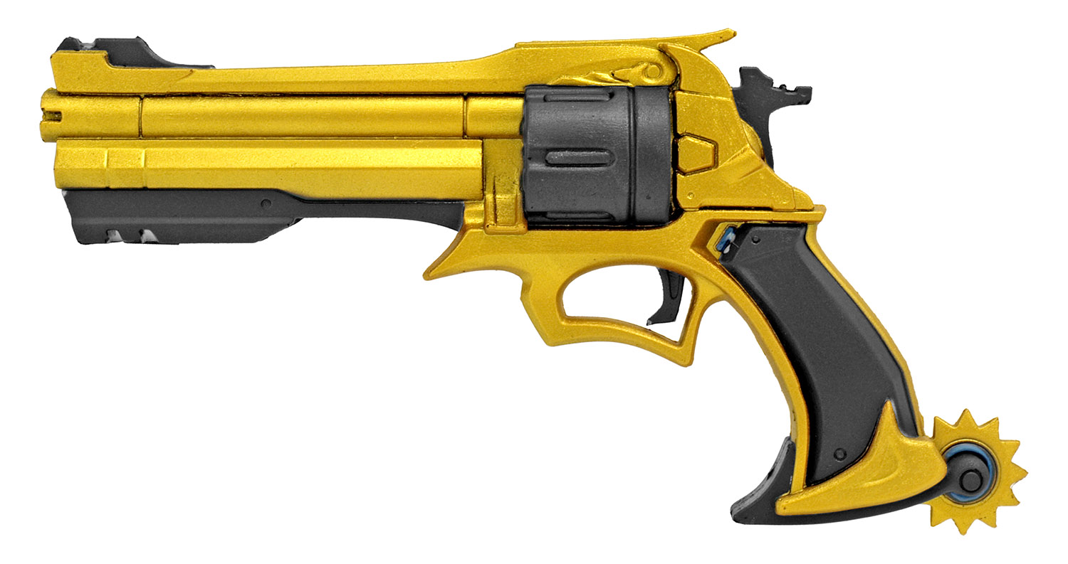Six Shooter Foam Pistol - Golden