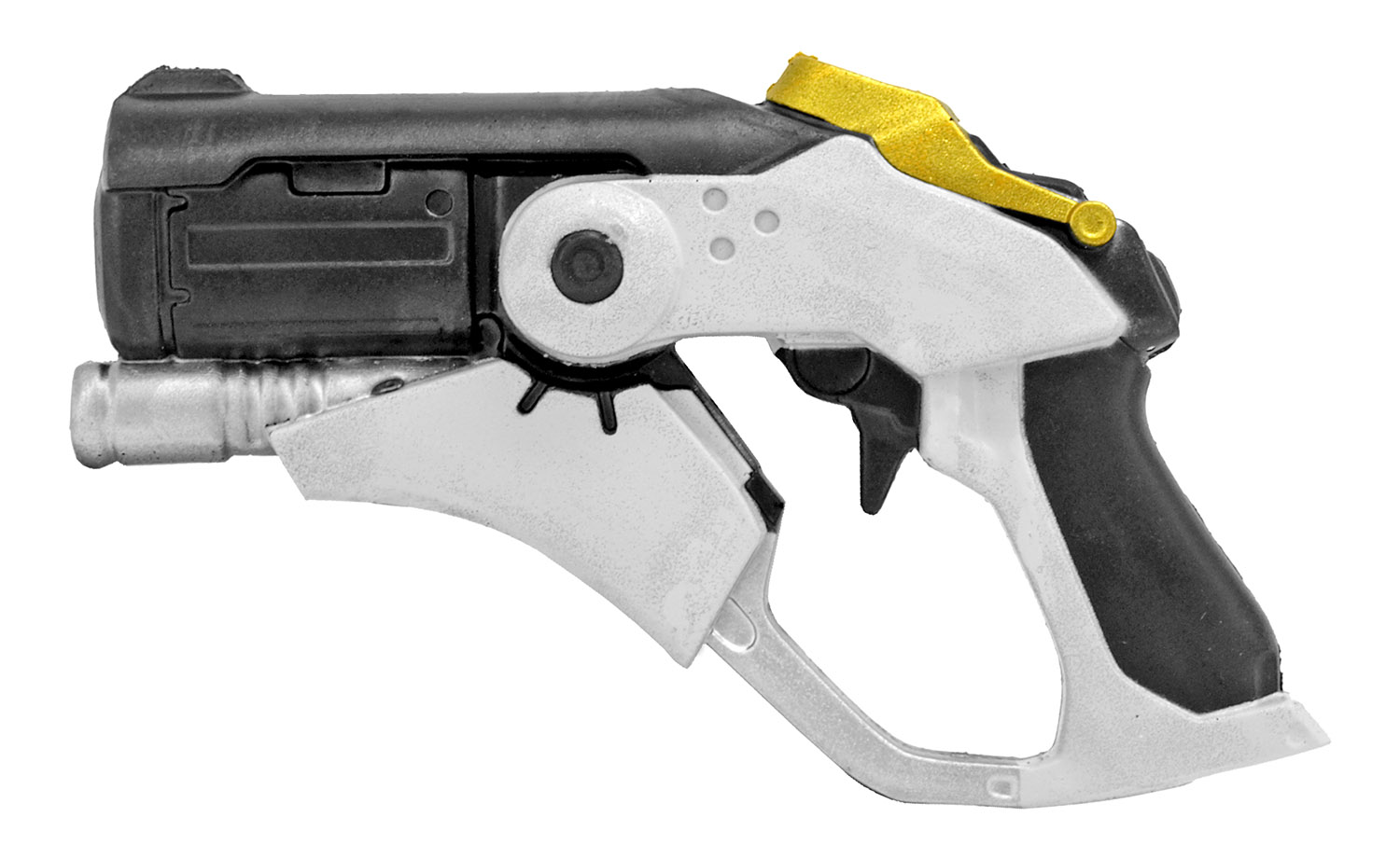 Star Cricket Foam Pistol - White