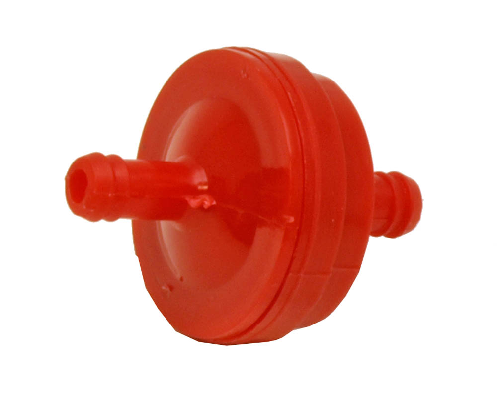 Fuel Filter for Lawnmowers - Red