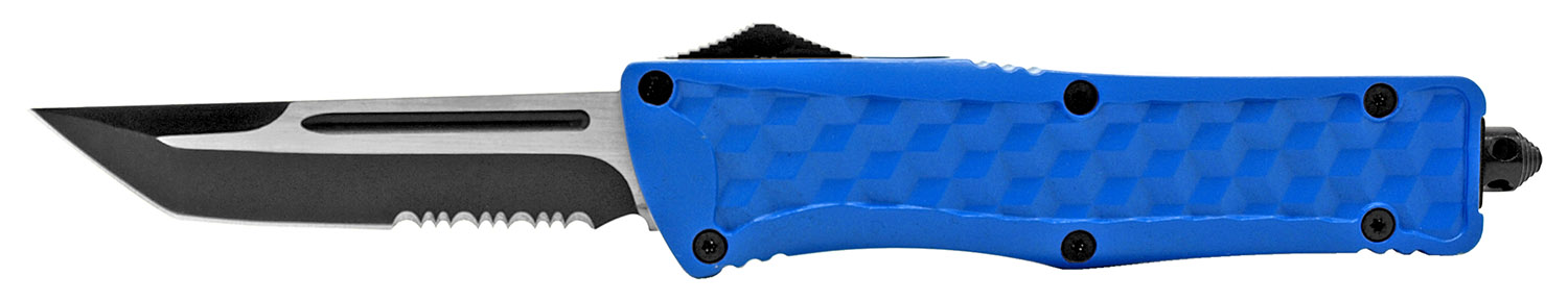 5.5 in Heavy Duty Out the Front Knife - Blue