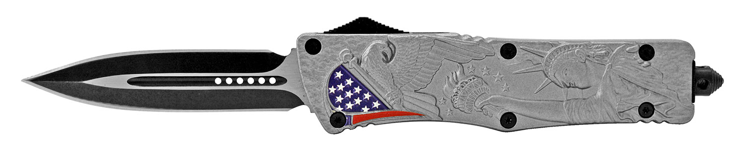 5.5 in Heavy Duty Out the Front Knife - United States