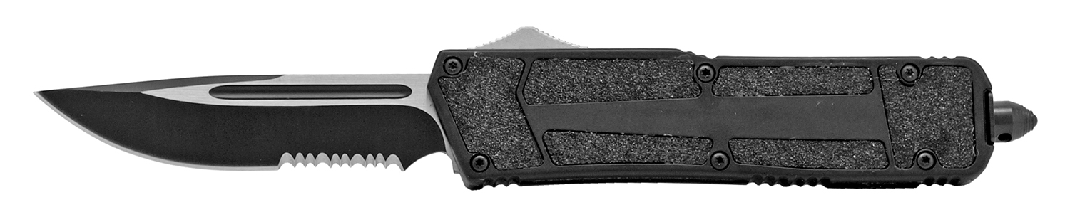5 in Out the Front Spring Assisted Knife - Black