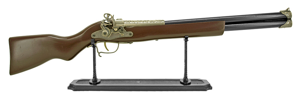 Double Barrel Flintlock Pirate Rifle