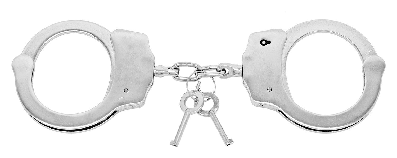 Double Lock Handcuffs - Chrome
