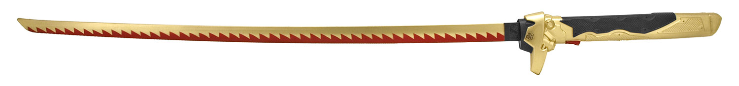 41.25 in Anime Cosplay Foam Sword - Red and Gold