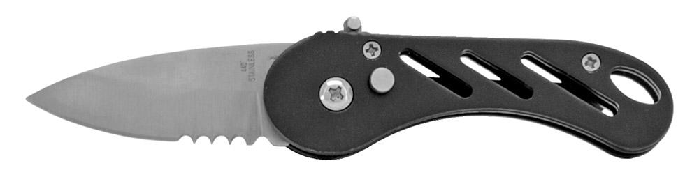 3.25 in Stainless Steel Folding Knife - Black