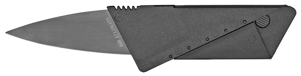 3.5 in x 2 in Credit Card Folding Knife