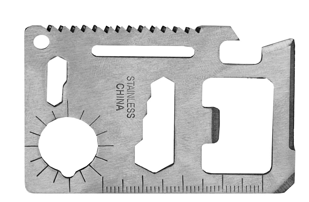 Credit Card 11 Function Multi-Tool