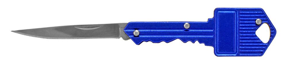 2.75 in Key Folding Knife - Blue